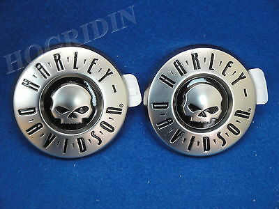 Harley screamin eagle cvo softail touring skull gas fuel tank emblems badges