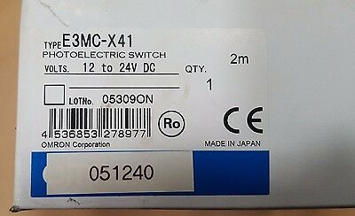 OMRON E3MC-X41 PHOTOELECTRIC SWITCH. Fedex Shipping. Net Price €813