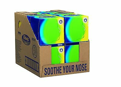 Kleenex 8825 Balsam Facial Tissue 3-Ply 56 Sheets per Box White (Pack of 12)