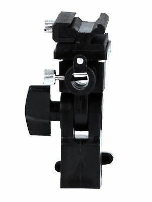 Phot-R Type B Professional Universal Light Stand Swivel Hot Shoe Flash Holder...