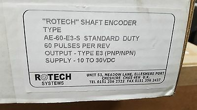 Rotech Shaft Encoder Ae-60-E3-S E3