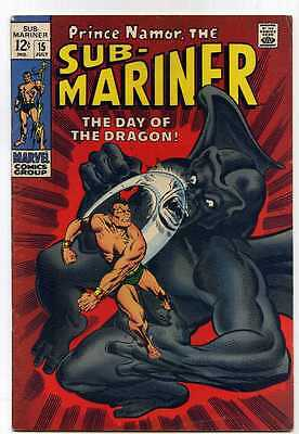 Sub Mariner 15 Fine- Marvel Comics SA