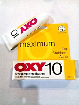*25g* OXY10 Treatment For Stubborn  Acne Pimple  At Maximum Strength