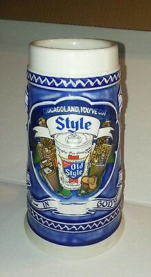 1982 Heileman's Old Style Beer Mug Made In Brazil