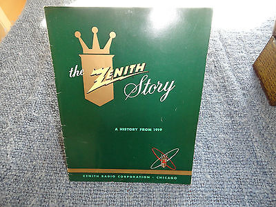 """The Zenith Story"" 1955 Booklet"