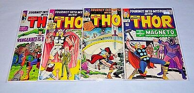 Journey Into Mystery 109 111 113 115 Thor Silver Age Lot