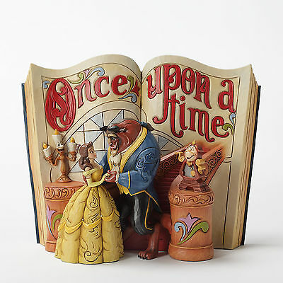Enesco Jim Shore Disney Beauty and the Beast Storybook Figurine 4031483