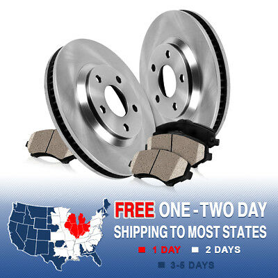 Front OE Brake Rotors and Ceramic Pads 2008 2009 2010 2011 2012 2013 LEXUS IS F