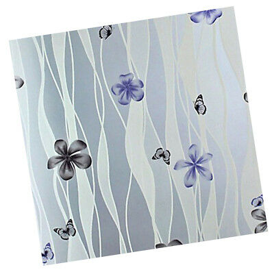 Frosted Window Film Glass Vinyl PVC Etched Decor Privacy Paper Cling Petal