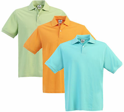 Polo Shirt Boys Kids Short Sleeve Girls School Uniforms Orange Solid Color New