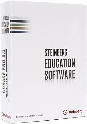 "Steinberg Cubase Pro 8.5 Education Version - ""Free Upgrade to Cubase 9"" - 46042"