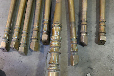 Antique brass spindles Vancouver post office Circa 1900