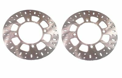 Yamaha Grizzly YFM550 YFM700 ATV (New) Pair of Front Disc Brake Rotors