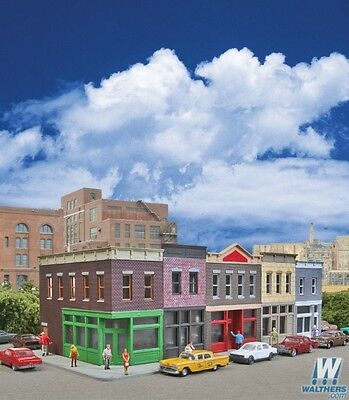 Walthers 933-3850 N Scale Merchant's Row I Kit