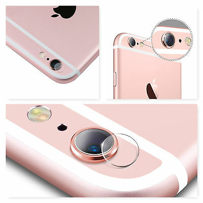 x2 iPhone 6 6s 6 Plus 6s Plus Tempered Camera Lens Protective Protector Cover