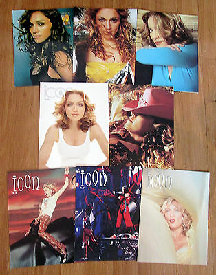 Official Madonna ICON Fan Club Magazines & Backstage Tour Passes - Value Pack #2