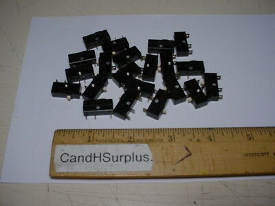 Cherry E61 limit switch 5a 125-250 vac. lot of 25 pcs