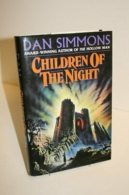 Children of the Night by Simmons, Dan Hardback Book The Cheap Fast Free Post