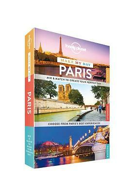 NEW Make My Day Paris By Lonely Planet Spiral Ringed Book Free Shipping