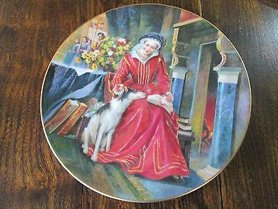 BNIB Royal doulton plate collectors gallery edition catherine parr pn 123