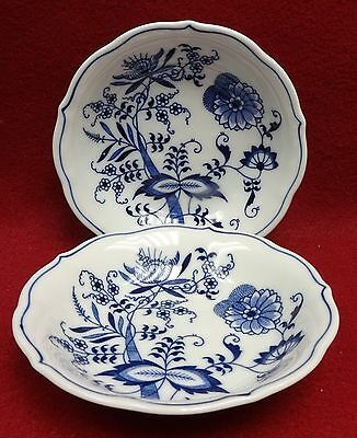 "BLUE DANUBE china/pattern Fruit Sauce Dessert Berry Bowl 5-3/8"" set of Two (2)"