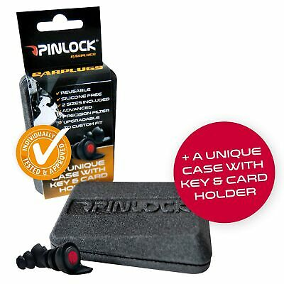 Pinlock Motorcycle / Motorbike Washable / Reusable Silicone Free Earplugs