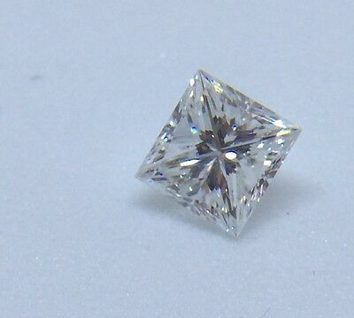 PRINCESS Cut Diamond 0.77ct G VS1 with Cert. from ADGL - Laser Inscribed