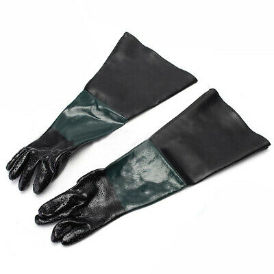"24"" Replacement Labour Protection Gloves For Sand Blasting Cabinet Sandblaster"