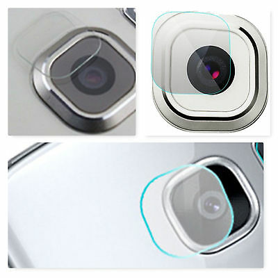 x2 Samsung Galaxy S7 S7 Edge Soft Tempered Glass Camera Lens Protector Cover