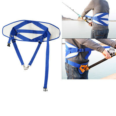 Adjustable Standing Up Fishing Waist Harness Thickened Protector 80-126cm