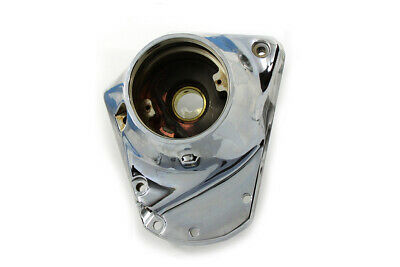 Polished Nose Cone Cam Cover for Harley Davidson by V-Twin