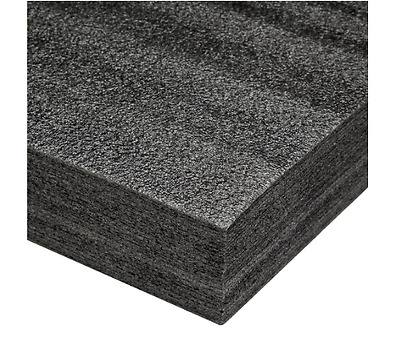 "Fastcap Kaizen Foam (2-1/4"")Black x 24"" x 48"" Thick Layered Foam57mmb 57 Mm New"