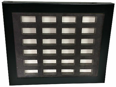 Casino Dice Insert - 24 Pair Casino Dice Display Board with Frame Included *