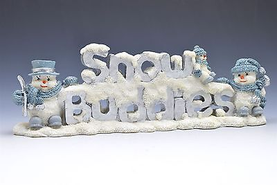 Encore Snow Buddies Snowman Display Sign 94118