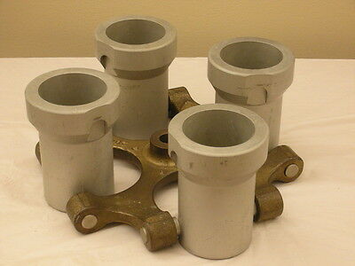 IEC 4 Place Swing Out Centrifuge Rotor Model #  284 w/ 4 Buckets (Cat: 384)
