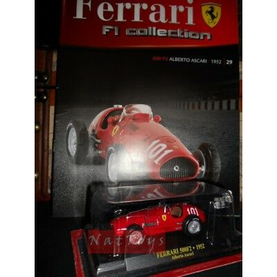 Ferrari F1 Collection 500F2 Ascari Modellino + fas. Fabbri DIE CAST 1:43