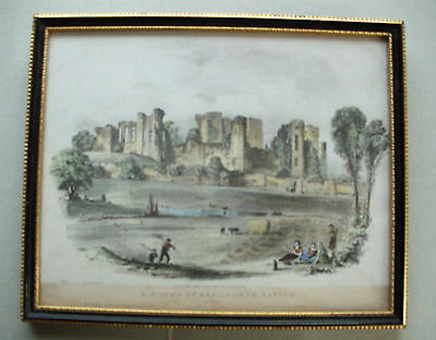 South West View of Kenilworth Castle, lithograph by John Brandard circa1845-1863