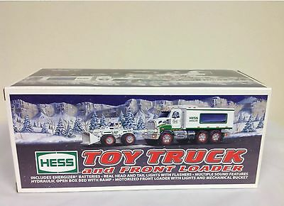 2008 Hess Toy Truck and Front Loader Mint