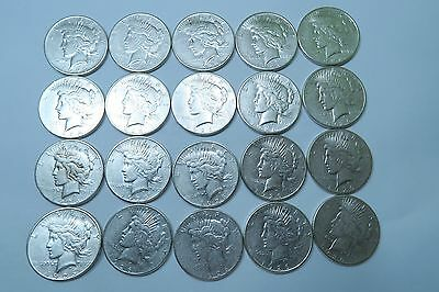 (20) 1926-S Peace Dollar Roll // BETTER DATE! // 20 Coins // 90% Silver (PDR28)