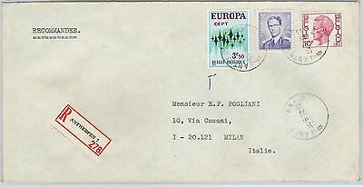 61118 -  BELGIUM - POSTAL HISTORY: COVER to ITALY 1972 - EUROPA CEPT