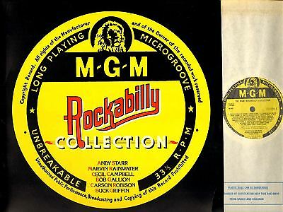 THE MGM ROCKABILLY COLLECTION andy starr/marvin rainwater/buck griffin/etc LP