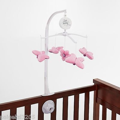 Little Bedding by Nojo Infant Girl's Musical Mobile - Butterfly Blossoms