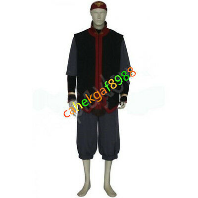 Custom Made Avatar The Last AirBender Aang Cosplay Costume Free shipping