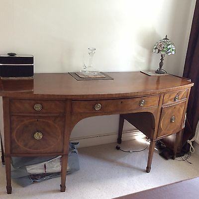 Georgian Mahogany bow fronted sideboard