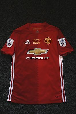 Manchester United 2017 EFL Cup Final Shirt Zlatan Ibrahimovic