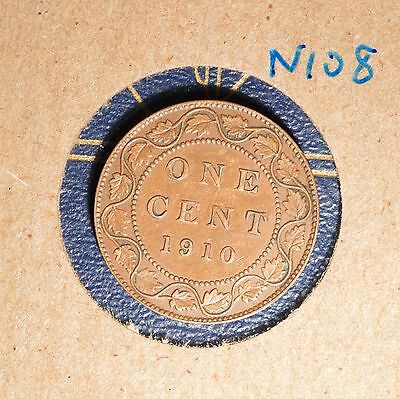 1910 Canada Large Cent - N108