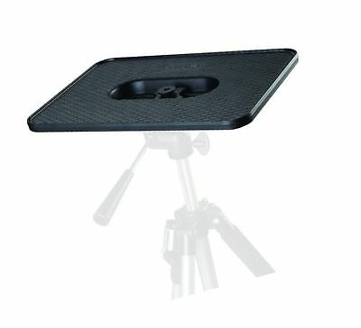 "Projector Platform Pallet / Shelf All Metal for Video Stand / Tripod 1/4"" & 3..."