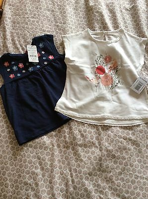Two girls NWT t-shirts 12-18 months