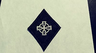 Celtic Cross Diamond Patch HARLEY DAVIDSON Outlaw biker 1%er Irish Pride