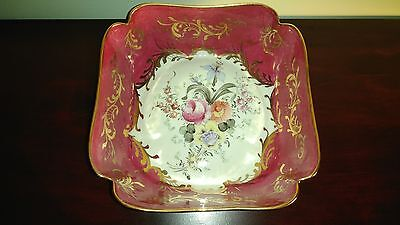 RARE Meissen for Birks Hand Painted Large Dish Beautiful!